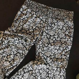 Roxy Flowy Black and White Beach Pants